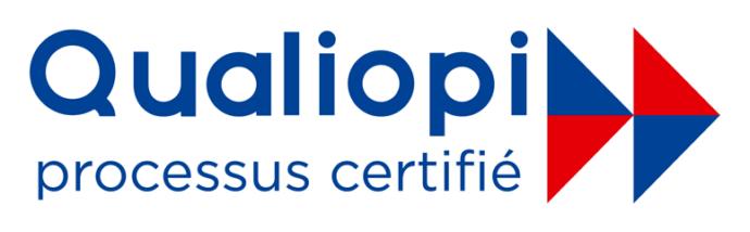 Logo Qualiopi processus certifié